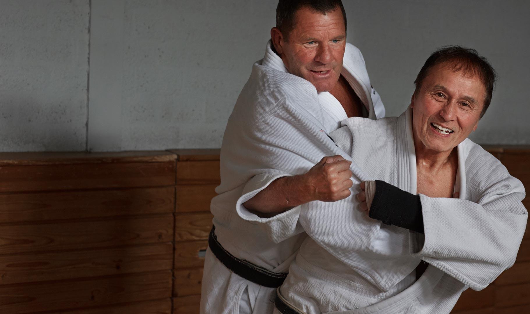 samen judo training