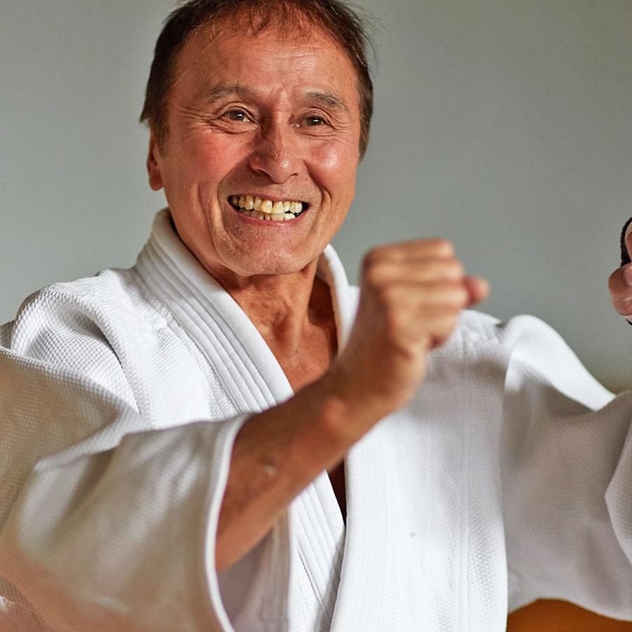 karate, judo, budo
